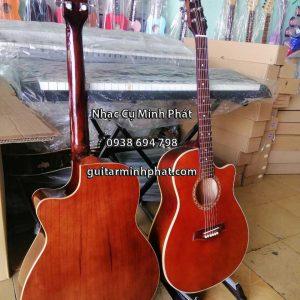 Đàn guitar acoustic gỗ hồng đào trung kỹ - nhạc cụ minh phát quận bình tân tphcm