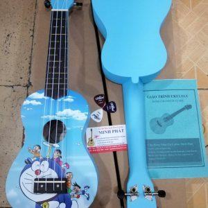 Đàn ukulele soprano hình doremon giá rẻ tại Nhạc Cụ Minh Phát quận Bình Tân TP.HCM