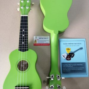 Đàn ukulele soprano màu xanh lá giá rẻ tại Nhạc Cụ Minh Phát quận Bình Tân TP.HCM