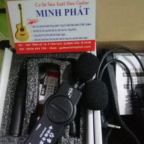 Phụ kiện Mobin - Pickup cho đàn tranh, đàn hồ kết nối ra loa - Nhạc Cụ Minh Phát
