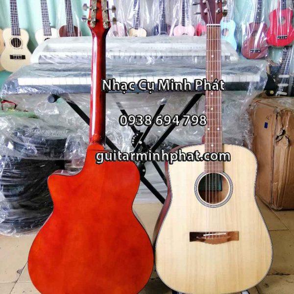 Chi tiết mặt lưng - nhạc cụ Minh Phát