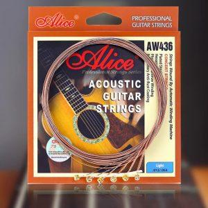 Mua dây đàn guitar acoustic alice aw436 giá rẻ tại tphcm - nhạc cụ minh phát