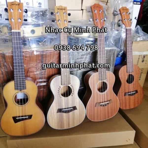 Mua đàn ukulele concert giá rẻ full gỗ mahogany tại cửa hàng nhạc cụ Minh Phát quận Bình Tân TPHCM