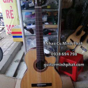 Đàn guitar classic gỗ hồng đào dáng khuyết ( Dáng A ) - Nhạc Cụ Minh Phát Quận Bình Tân