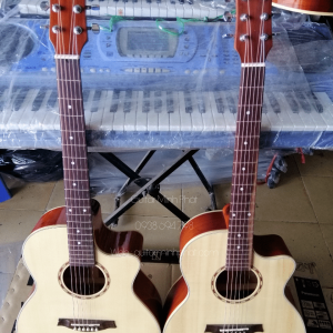 Đàn guitar gỗ hồng đào thích hợp đệm hát - fingerstyle - Nhạc Cụ Minh Phát