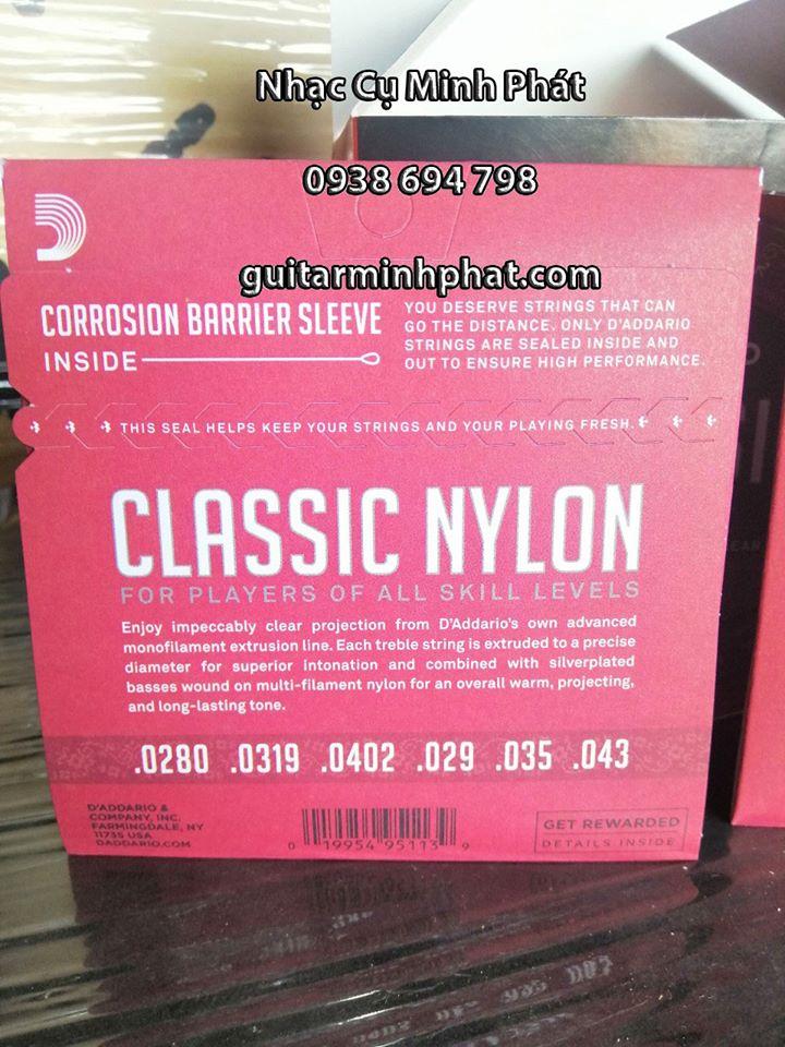 Bộ Dây Đàn Guitar Classic DAddario EJ27N 2