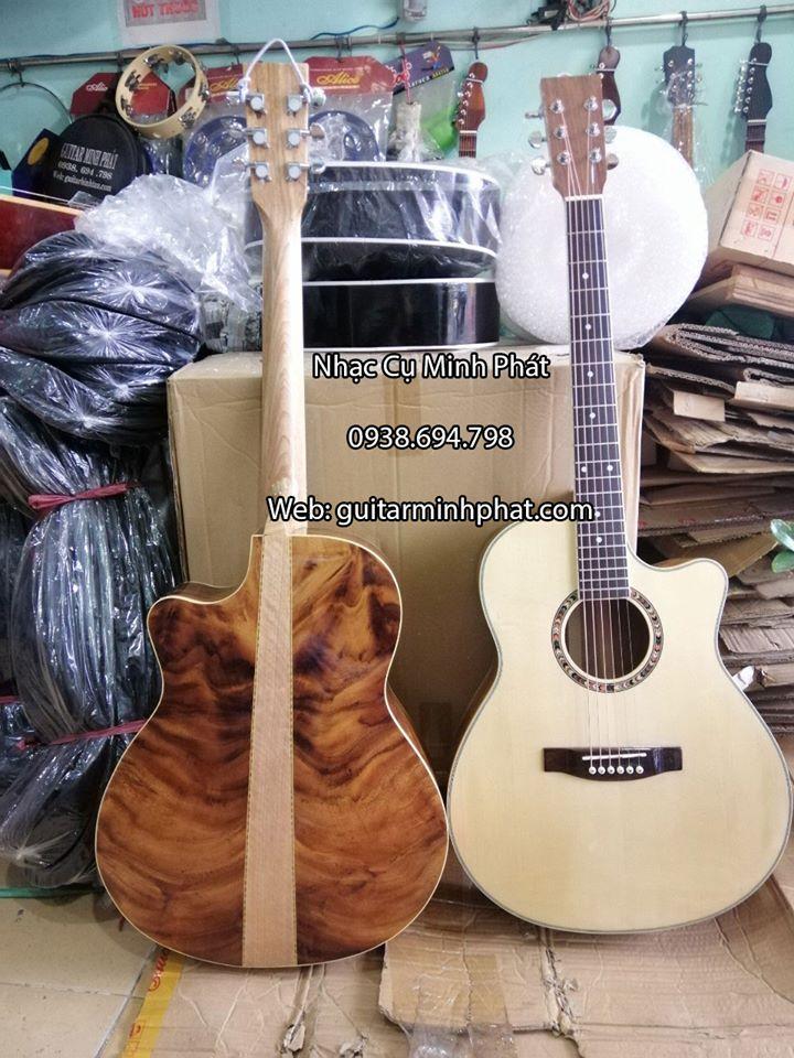 Đàn Guitar Acoustic Gỗ Điệp Kỹ D-01 5