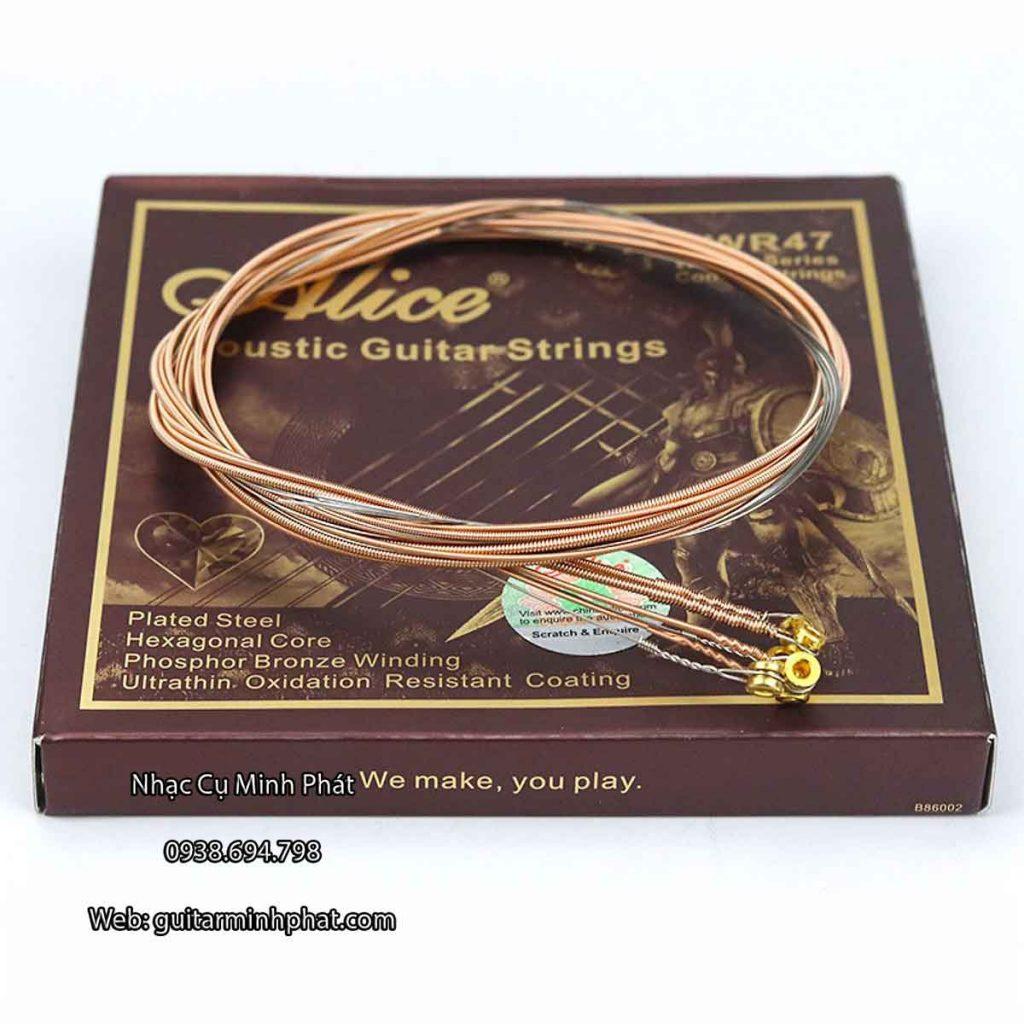 Bộ Dây Đàn Guitar Acoustic Alice AWR47 1