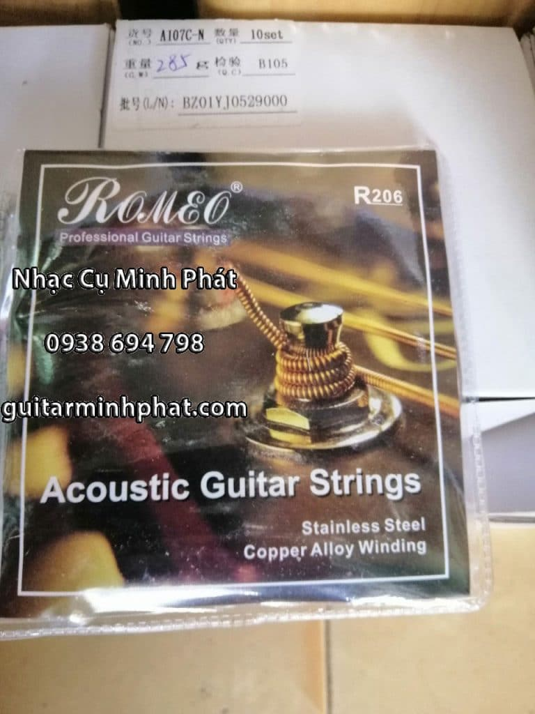 Dây Đàn Guitar Acoustic Alice A206 2
