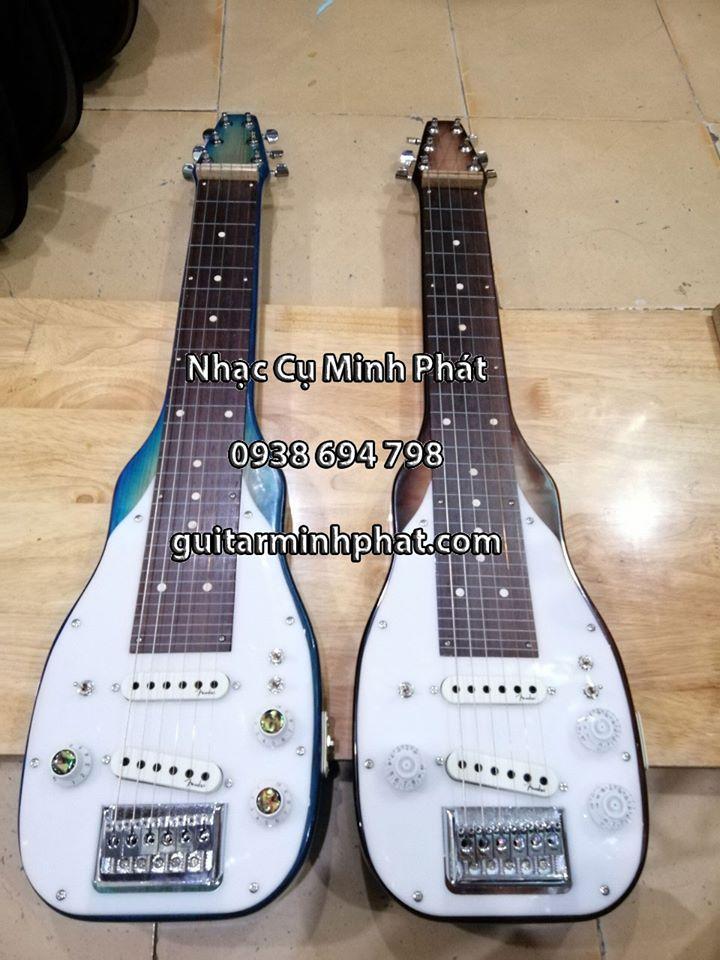 Đàn hạ uy di - hạ uy cầm hay guitar hawai gỗ tự nhiên 4
