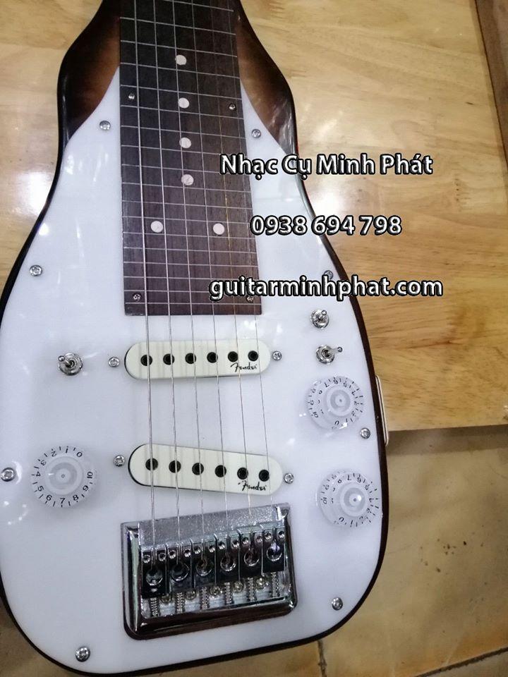 Đàn hạ uy di - hạ uy cầm hay guitar hawai gỗ tự nhiên 5