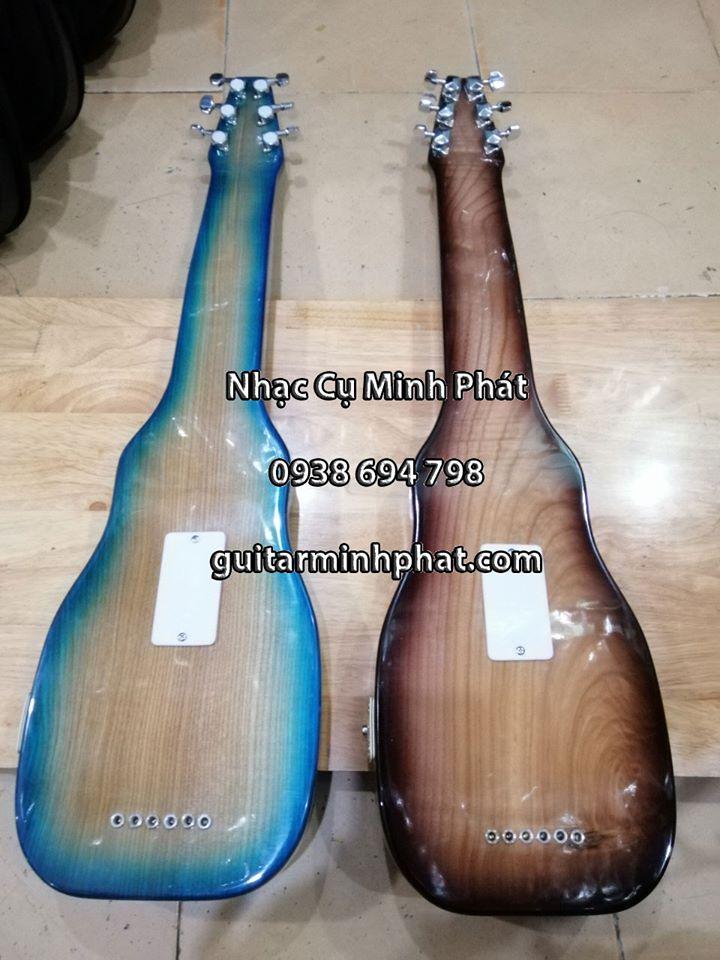 Đàn hạ uy di - hạ uy cầm hay guitar hawai gỗ tự nhiên 6