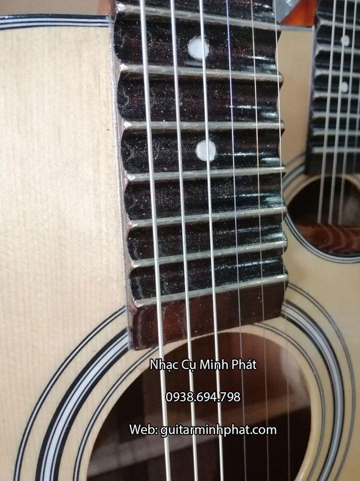 Đàn Guitar Vọng Cổ Thùng Phím Lõm 21 Phím Gỗ Hồng Đào 7