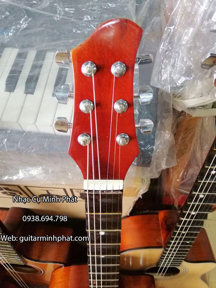 Đàn Guitar Vọng Cổ Thùng Phím Lõm 21 Phím Gỗ Hồng Đào 8