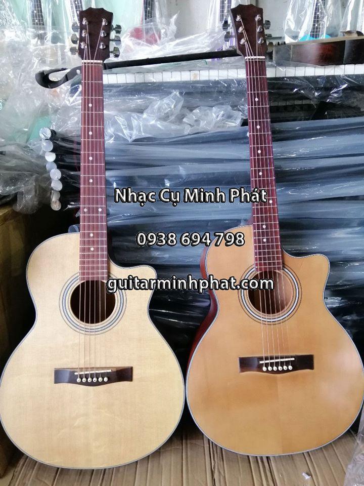 Đàn guitar acoustic gỗ hồng đào HD12 3
