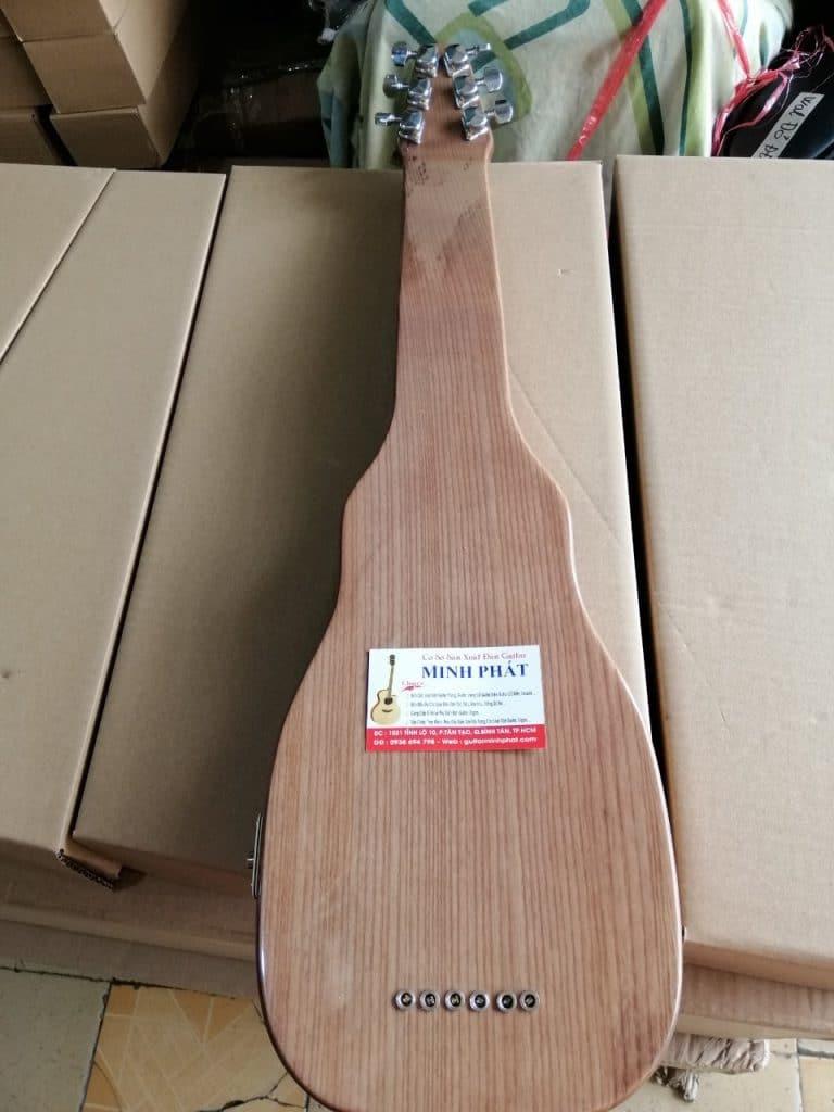 Đàn hạ uy di - hạ uy cầm hay guitar hawai gỗ tự nhiên 2