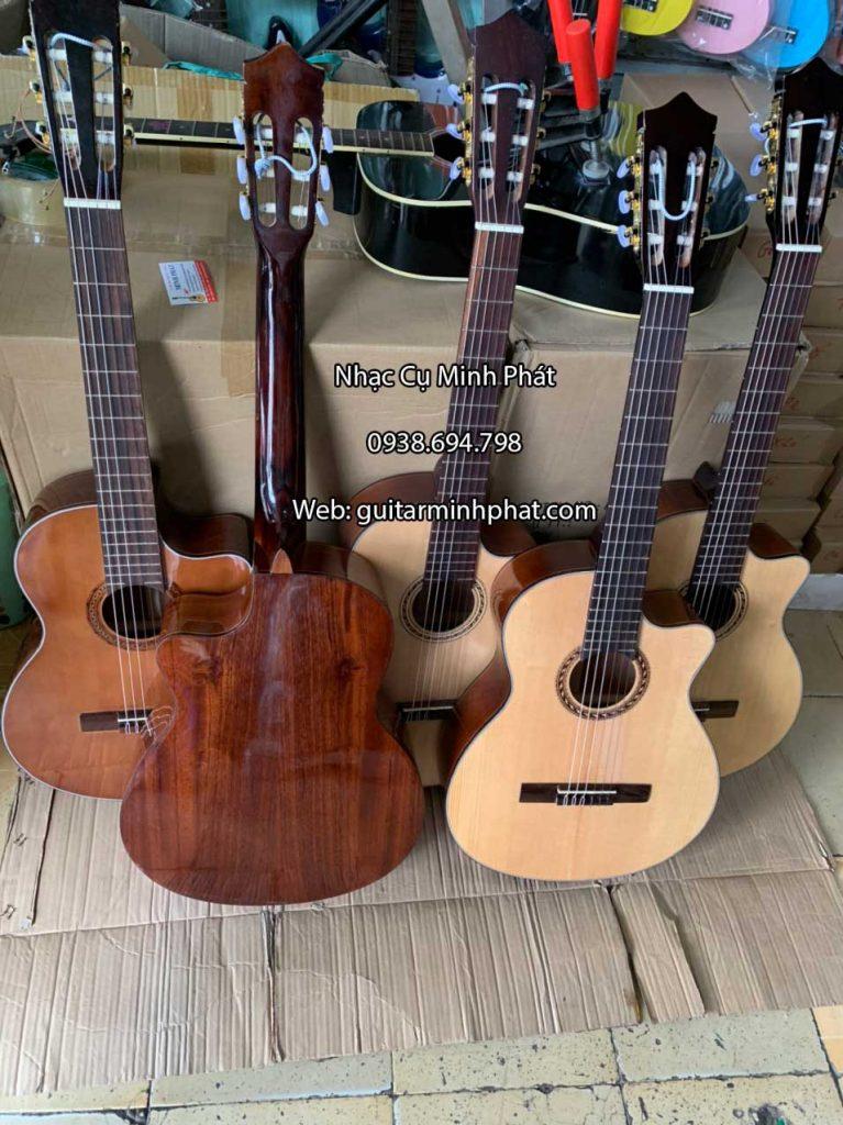 Đàn Guitar Classic Dáng Khuyết gỗ Hồng Đào 2