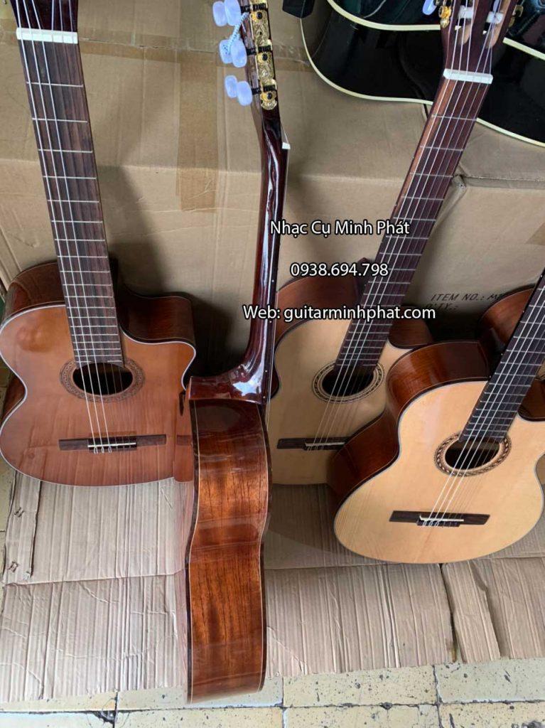 Đàn Guitar Classic Dáng Khuyết gỗ Hồng Đào 4