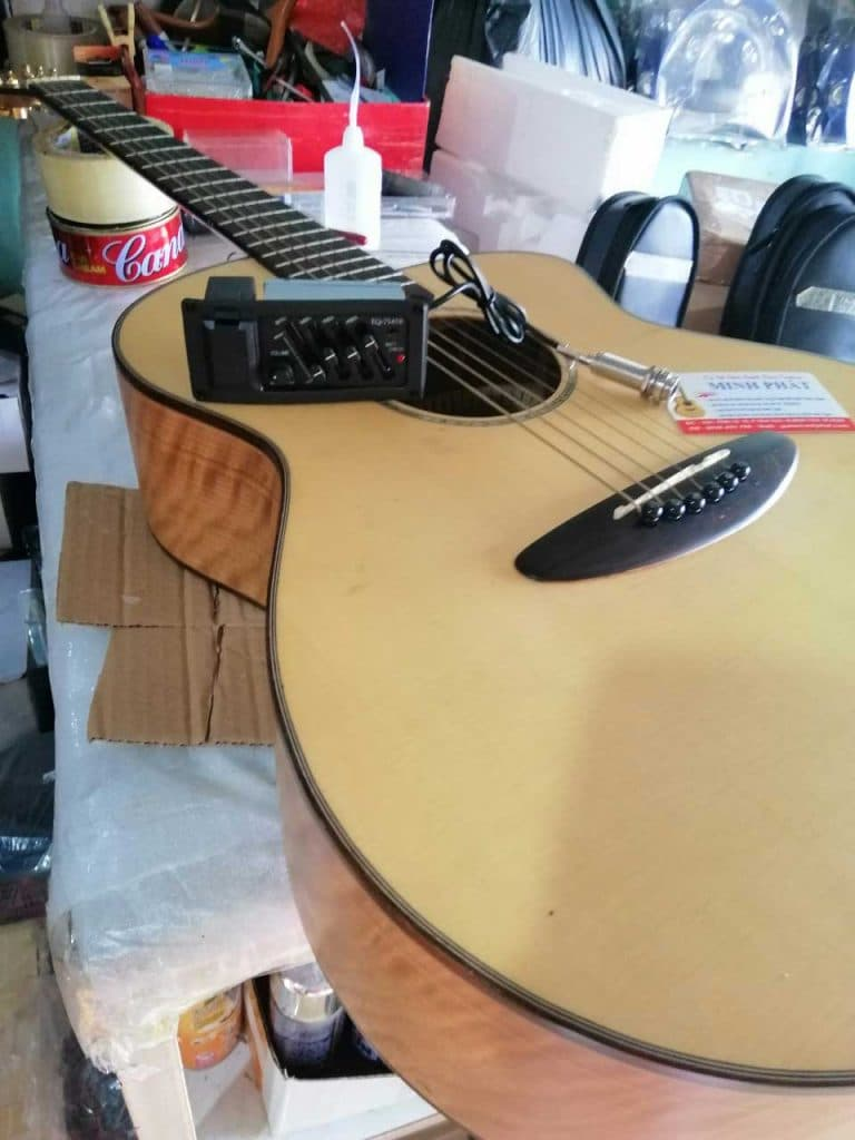 Sửa chữa, lắp EQ giá siêu rẻ - Hệ thống đàn guitar Minh Phát uy tín chất lượng 2