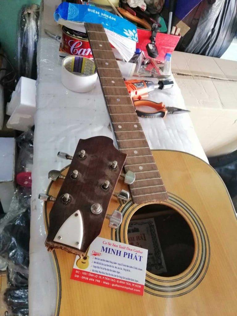 Sửa chữa, lắp EQ giá siêu rẻ - Hệ thống đàn guitar Minh Phát uy tín chất lượng 9