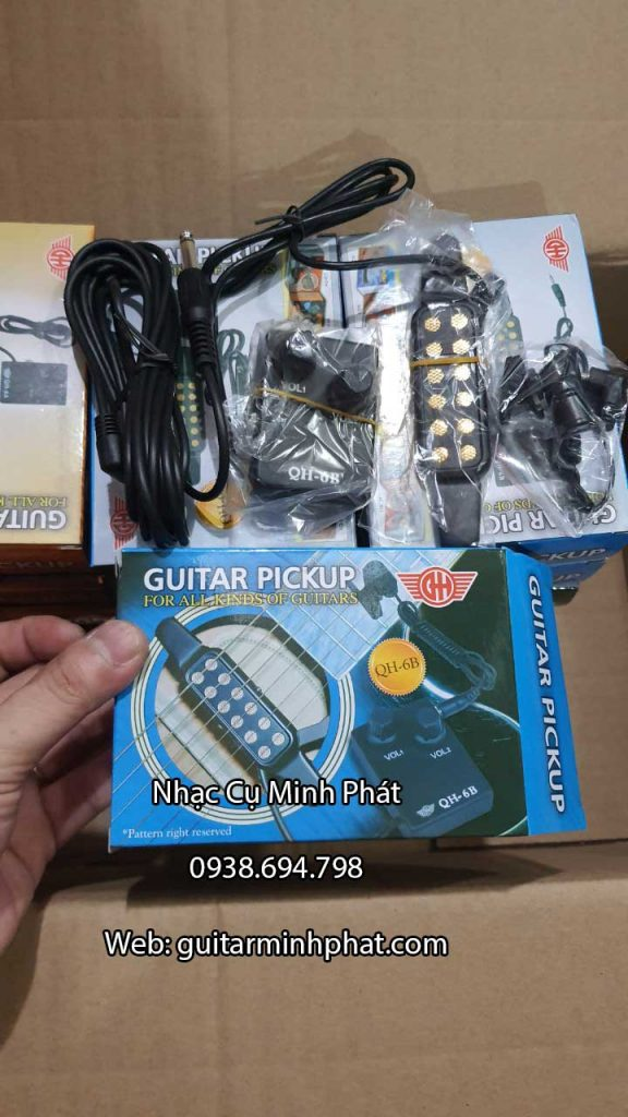 Acoustic Guitar Pickup QH-6B 2