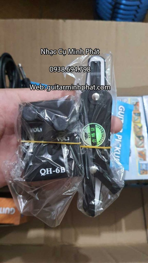 Acoustic Guitar Pickup QH-6B 3